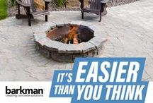 Outdoor Fire Pits and Fireplaces / Collection of beautiful ready-to-install fire pits and fireplaces for your backyard and outdoor living spaces.