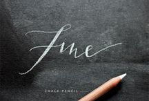 Chalk / by Meike from Bull Design