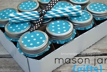 MASON JAR INSPIRATION / It's amazing what all I can do with a jar.  I use to think they were just for canning.  Wow.