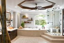 Bathroom Designs / PLEASE PIN AS MANY THINGS AS YOU'D LIKE. NO LIMIT :-). AND NO BANNING! / by Donna Thomas