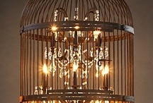 BIRDCAGE and BIRD HOUSE INSPIRATIONS