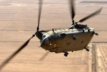 Chinook helcopters