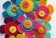 COSTURAS / Moldes, ideias, dicas, inspirações, acessórios. Peças em feltro. / by Carol Caracol