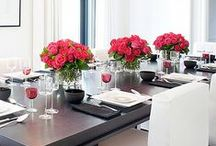 {mesas & flores}
