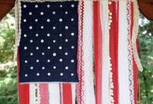 Fourth of July / Ideas and Inspiration for our annual Independence Day Party