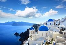 Santorini/サントリーニ島 / Welcome! My [Spark joy Bookmark] to :D    Thank you for visiting!