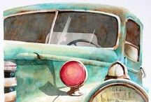 Watercolor/水彩画 / Welcome! My [Spark joy Bookmark] to :D    Thank you for visiting!
