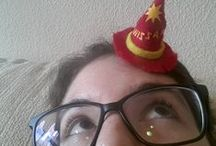 Rincewind Hat Craft / Art of Terry Pratchett Theme