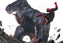 Marvel Heroes/ Vilões