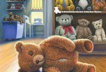 Teddy Bear Cozy Mysteries - Meg Macy / The Shamelessly Adorable Teddy Bear cozy mystery series from Kensington Books - 2017 and 2018!
