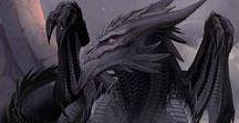 Dragões / Para aqueles que é amante de Dragões, criaturas magnificas e Lendárias.