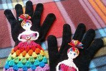 Gloves / Mitts / Cuffs / by Babukatorium ♥
