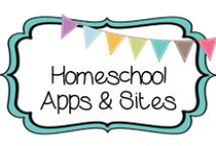 {HOMESCHOOL} apps & sites / Dedicated to helpful Apple apps & websites for homeschoolers / by Beth Silcott