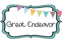 {GREAT ENDEAVOR} / by Beth Silcott