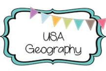 {GEOGRAPHY} usa / by Beth Silcott