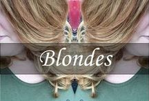 Blondes / Blondes done by Team New York New York / by New York New York Salon & Spa