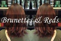 Brunettes & Reds / by New York New York Salon & Spa