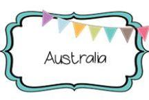 {GEOGRAPHY} australia / by Beth Silcott