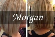 Stylist, Morgan Ogle-Bussard / Stylist Morgan has been with our team for Four years since her Graduation from Paul Mitchell's, The Temple in Frederick MD! / by New York New York Salon & Spa