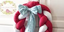 Kaela Elliott | Christmas Decorating / A handmade and homemade Christmas with projects full of Christmas Crafts Projects.  Handmade Christmas decorating.