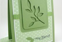 Card Ideas / Cards that inspire me. Thank you to all the creative people out there who help me create! / by Natasha Luehr