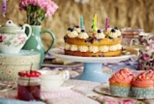 Afternoon Tea / This is an inspiration board for afternoon tea ideas, what to serve at your high tea - perfect for anybody planning an afternoon tea party