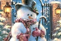 Snowman Love / by Donna Graves-Roll