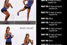 Gezondheid en fitness / Healthy foods and exercise