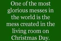 Christmas / It's the most wonderful time of the year.