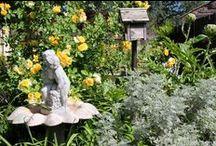 Garden decor / Angels and garden decor