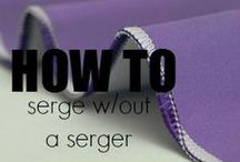 {Sewing} Tips and Tricks / by Crystal Lewis
