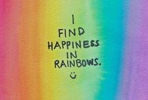 Rainbows / All those little things, like rainbows, do make a difference
