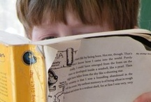 With a Dreamy Far Off Look, and Her Nose Stuck in a Book / by Teresa Gagnon