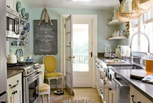 kitchen / kitchen decorating ideas / by Gina @ Shabby Creek Cottage