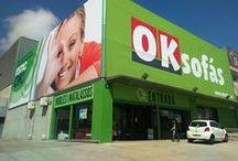 Tiendas OKSofás / Llegar a nuestras tiendas es así de fácil y aquí podrás verlo con todo detalle.