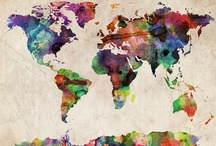 The WORLD, My Land / by Patthiee Duarte