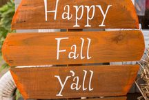 Season - Autumn / The first day of Fall begins the next 6 months of decorating. / by Gwen Crivello
