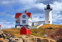 lighthouses / by Leslie Jones