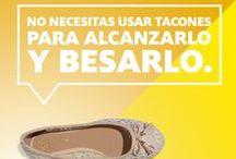 ¡#AmoLosZapatos! / No importa el estilo, siempre hay uno para ti. Síguenos y comparte nuestro amor por los zapatos.