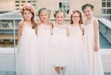 Flower Girl/Page Boy Inspiration / Flower girl and Page boy / by Kleinfeld Bridal