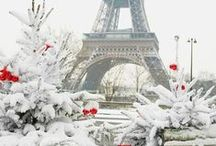 Parisian Winter Wonderland! / The magical city gets even more dreamy during the Winter! We've compiled our favorite shots!
