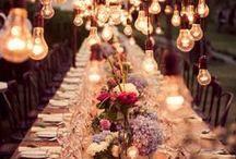 Bodas | Wedding Inspiration / Inspiración para la decoración de Bodas (y bodas que me gustaría fotografiar!)