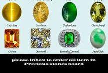 Precious stones / Precious stones