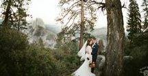 What to Wear to Get Married in Yosemite / Are you thinking about eloping in Yosemite, but stumped on what to wear? Check out what these brides wore for their intimate wedding day.