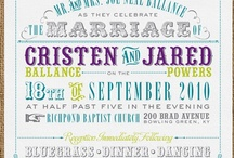 Wedding Stationery / by Forevermore Events /Laura Stagg