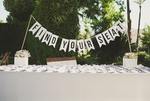 Wedding-Take a Seat / by Forevermore Events /Laura Stagg