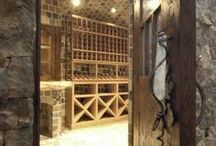 Wine room inspiration / by My Uncommon Slice of Suburbia