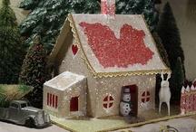 Gingerbread & Putz Houses