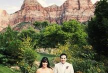 Zion National Park Cliffrose / www.forevermoreevents.com / by Forevermore Events /Laura Stagg