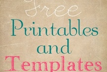 Free Downloads of All Sorts / Free Downloads for Printables, Templates, Sewing Projects, Organizing and Crafts / by Dawn Crescimone | ! A Permanent Health Kick ! - Healthy Food Recipes and Fitness Community